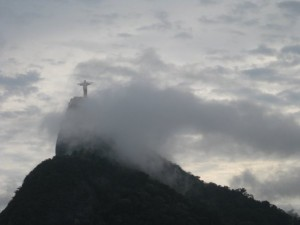 The Corcovado in Rio de Janeiro, Brazil